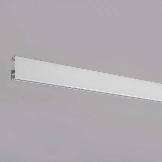Aliuminio sistema A PROFILIS baltos sp. Nr.TK 2001B