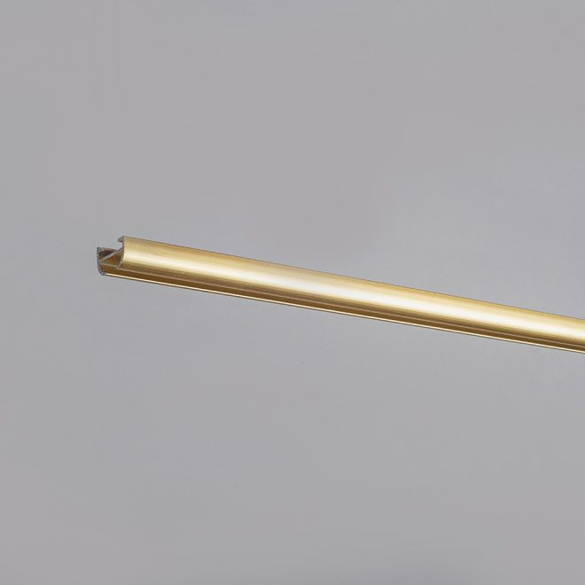 Aliuminio sistema D PROFILIS mat. aukso sp.