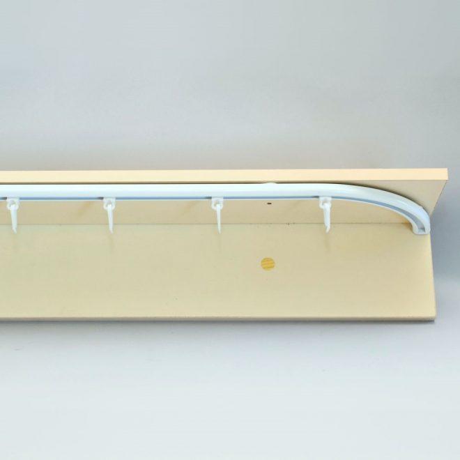 Aliuminio sistema D PROFILIS sukomplektuotas baltos sp. 2