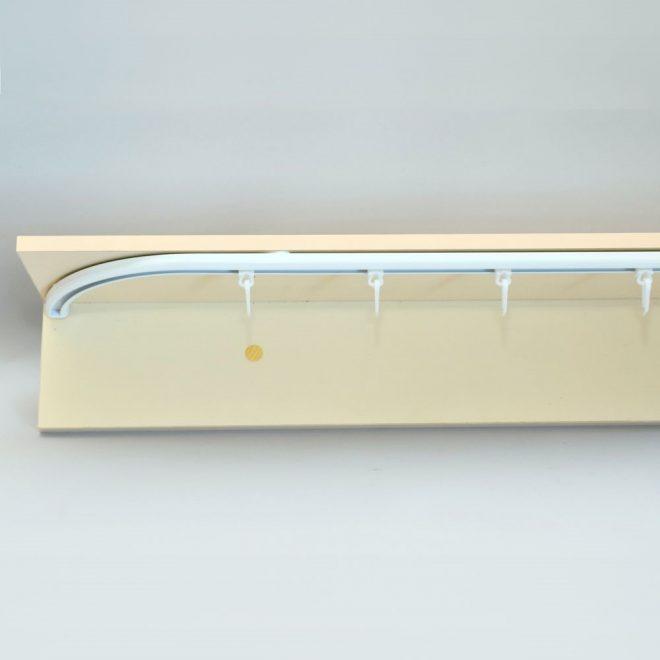 Aliuminio sistema D PROFILIS sukomplektuotas baltos sp. 3