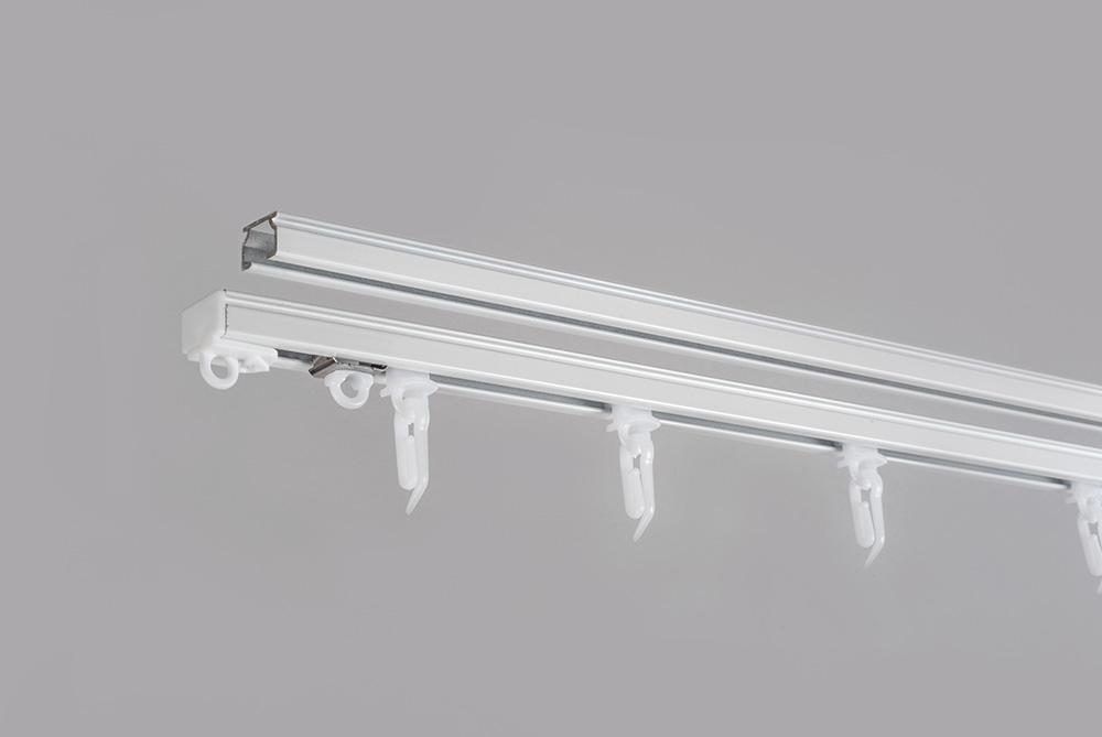 Aliuminio sistema U PROFILIS sukomplektuotas baltos sp. 3