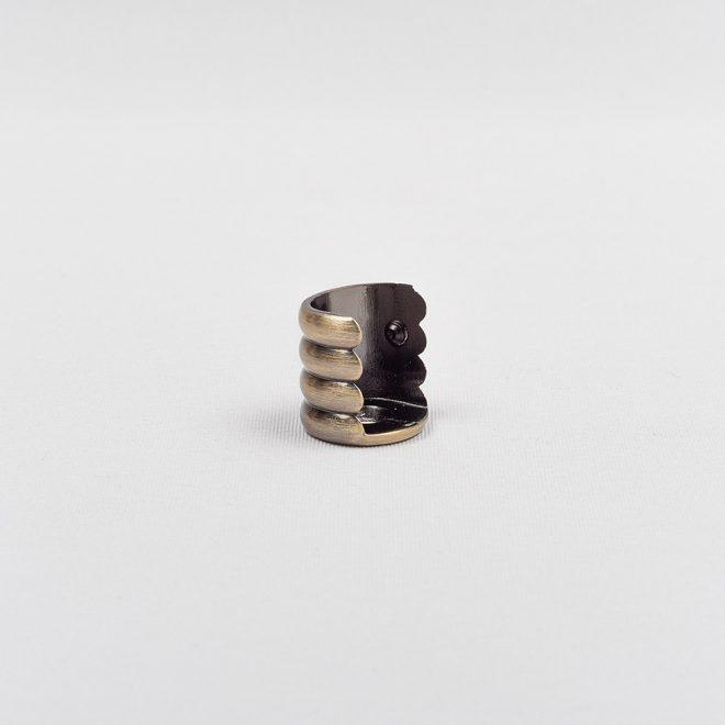 Laikiklis šoninis karnizo vamzdžiui Ø16mm šv. send. aukso sp.