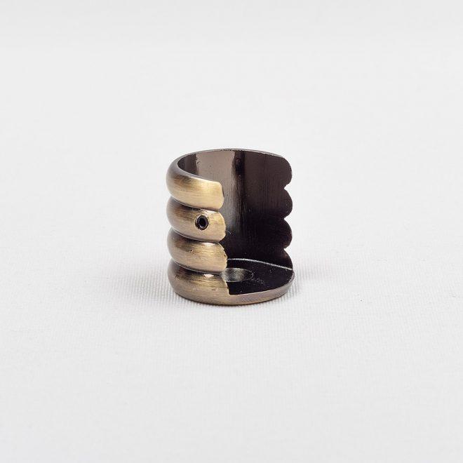 Laikiklis šoninis karnizo vamzdžiui Ø25mm šv. send. aukso sp.