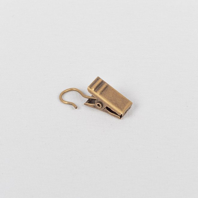 Segtukai metaliniai plieno lyno karnizui šv. send. aukso sp. Nr.331