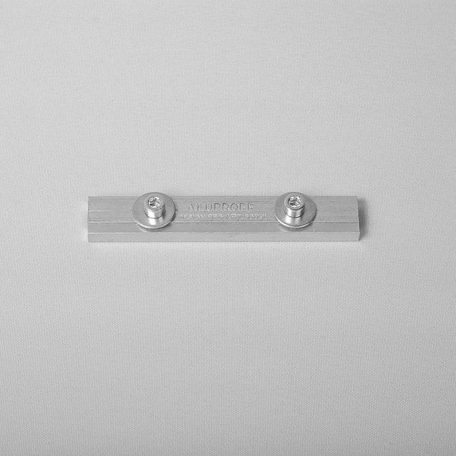 Sujungimas metalinis aliuminio profiliui baltos sp. Nr.8181