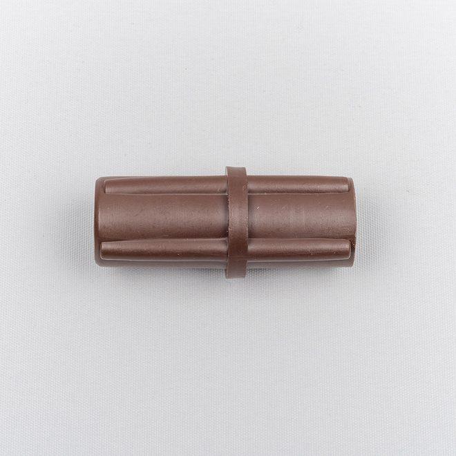 Sujungimas plastikinis karnizo vamzdžiui Ø28mm STANDART BERGAMO