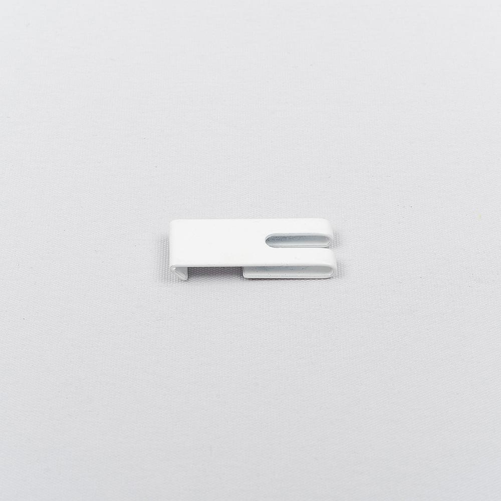 Tvirtinimo laikiklis met. aliuminio profiliui baltos sp. Nr. TK 11095