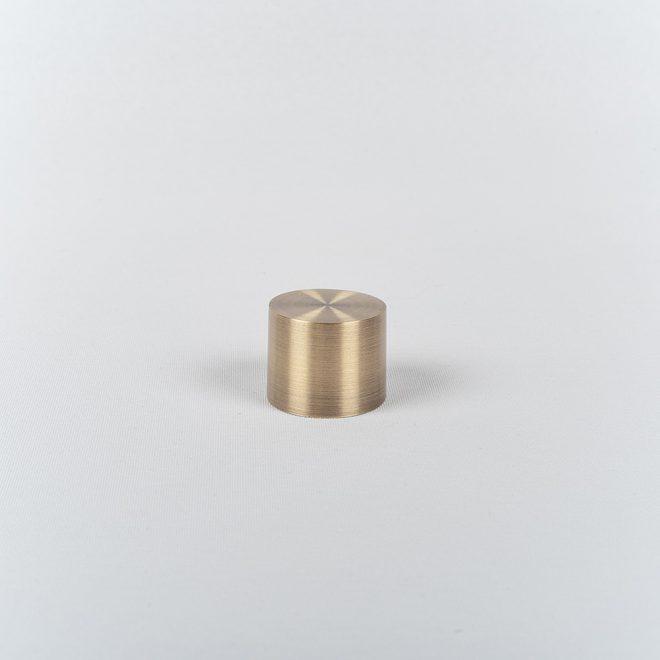 Užbaigimas karnizui LUN Ø25mm šv. send. aukso sp.
