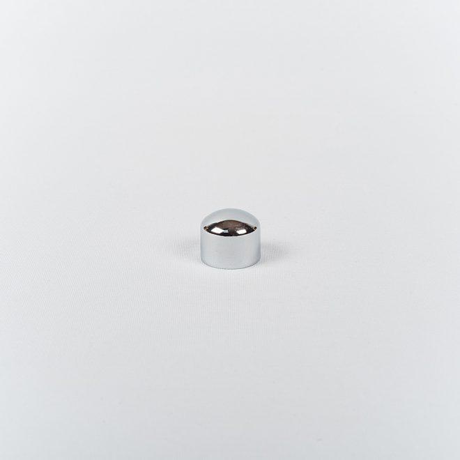 Užbaigimas karnizui PICOLO Ø16mm blizg. sidabro sp.