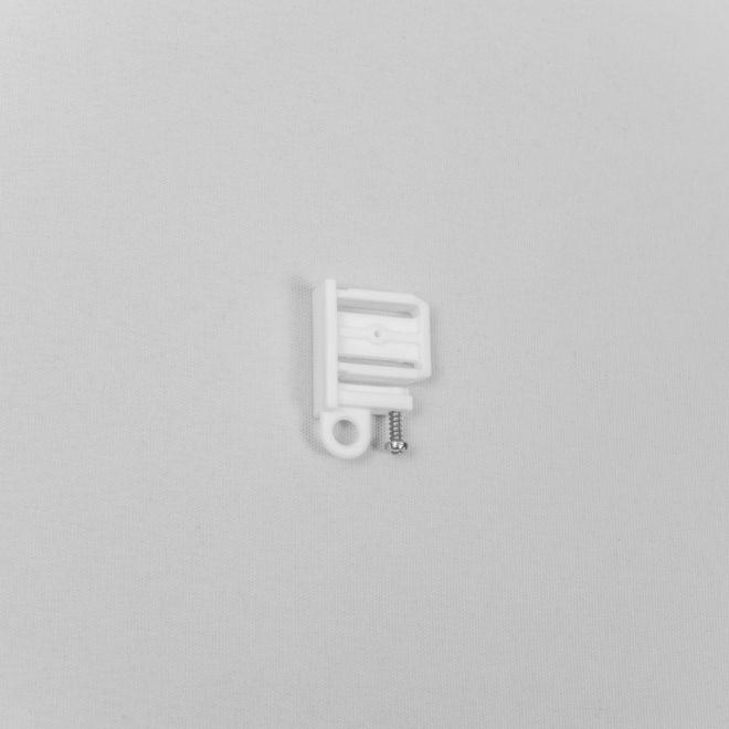 Užbaigimas plastikinis aliuminio profiliui baltos sp. Nr.TK 4061