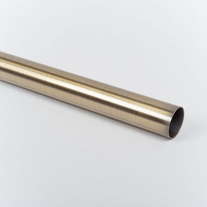 Vamzdis karnizui ELEGANC Ø25mm šv. send. aukso sp.