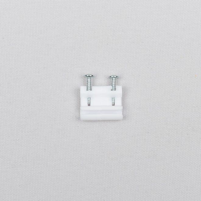 Virvelės sujungėjas plastikinis baltos sp. Nr. 85