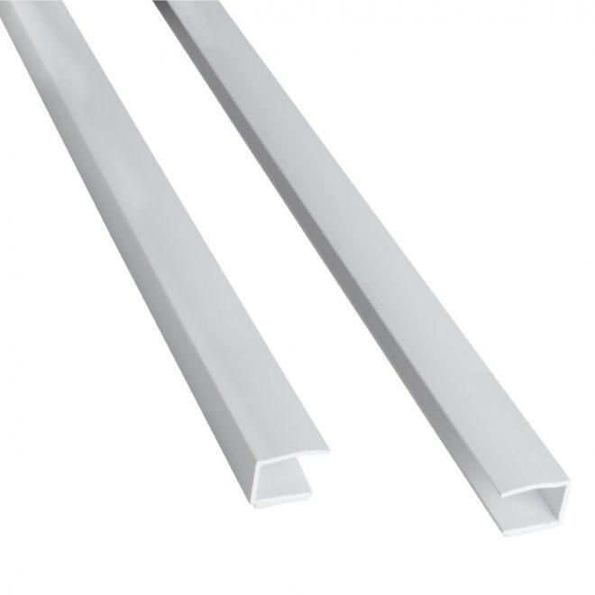 Kreipiamasis profilis roletui L150cm baltos sp.