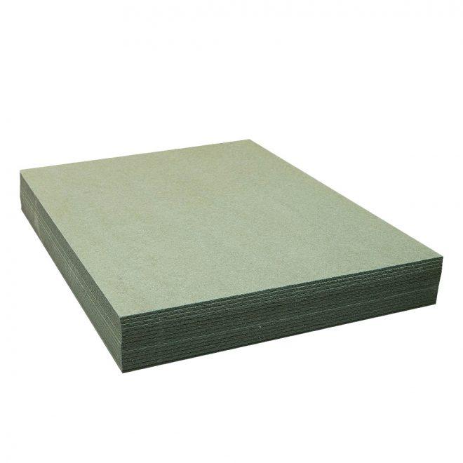Minkšta medienos plaušo plokštė KONSTRUKTOR grindų išlyginimui ir šiltinimui žalios sp.