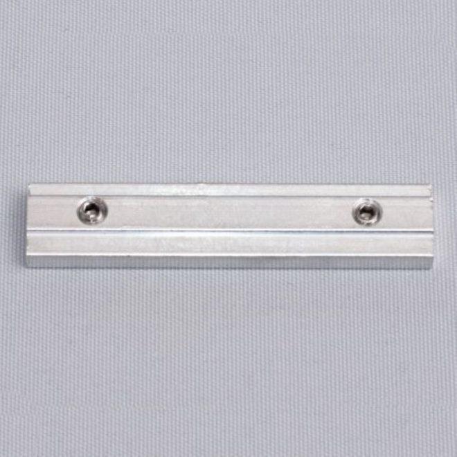Sujungimas met. aliuminio profiliui UNIVERSAL 1 ir 2 bėgelių baltos sp. Nr. 52