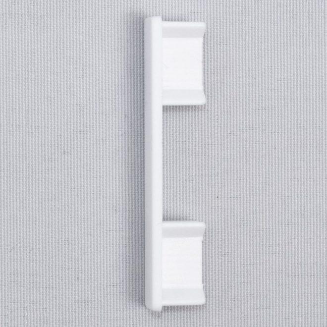 Užbaigimas pl. aliuminio profiliui UNIVERSAL 1 ir 2 bėgelių baltos sp. Nr. 51