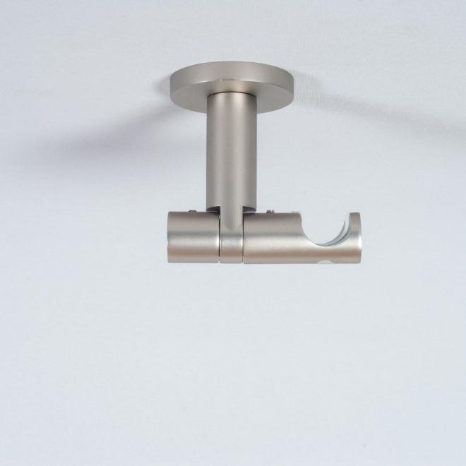 Laikiklis karnizui ASPEN NOVA L7cm Ø19mm į lubas viengubas šv. mat. sidabro sp. 1