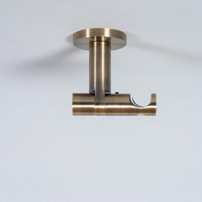 Laikiklis karnizui ASPEN NOVA L7cm Ø19mm į lubas viengubas šv. send. aukso sp. 1