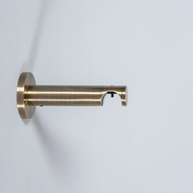 Laikiklis karnizui ASPEN NOVA L9-14cm Ø19mm viengubas šv. send. aukso sp.