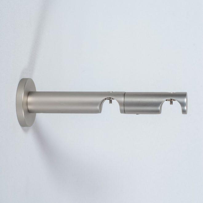 Laikiklis karnizui ASPEN NOVA L9 15cm Ø19 19mm dvigubas šv. mat. sidabro sp.