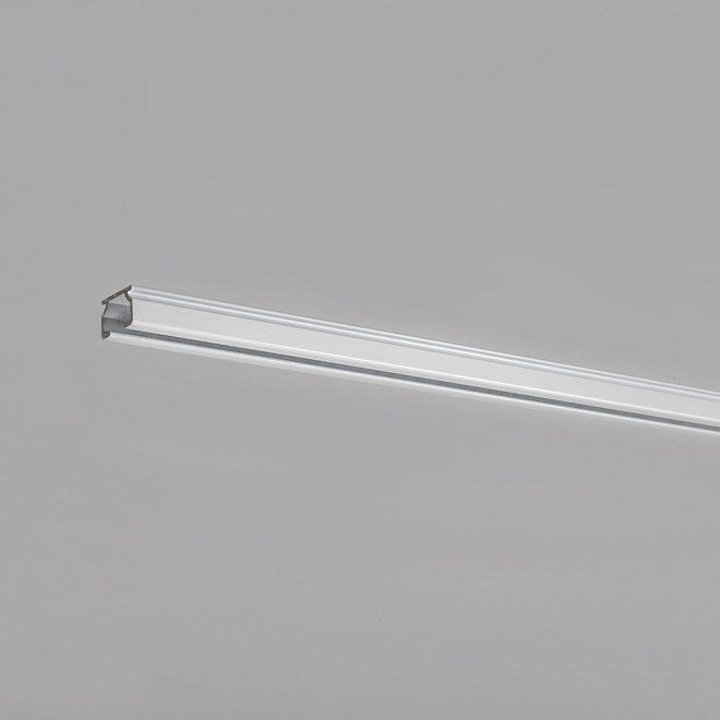 Aliuminio sistema U PROFILIS baltos sp. Nr. TK 11005