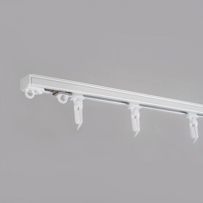 Aliuminio sistema U PROFILIS sukomplektuotas baltos sp.