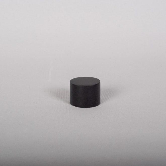 Užbaigimas karnizui FONDI Ø19mm mat. juodoschromo sp.