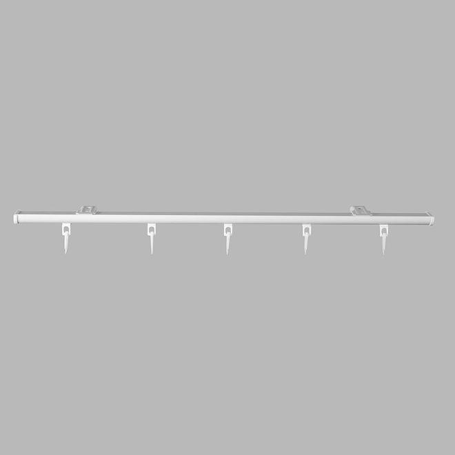 Aliuminio sistema DS PROFILIS sukomplektuotas baltos sp.