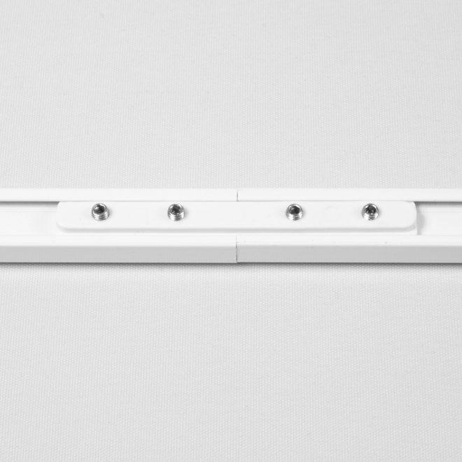 Sujungimas pl. aliuminio profiliui baltos sp. Nr. 172